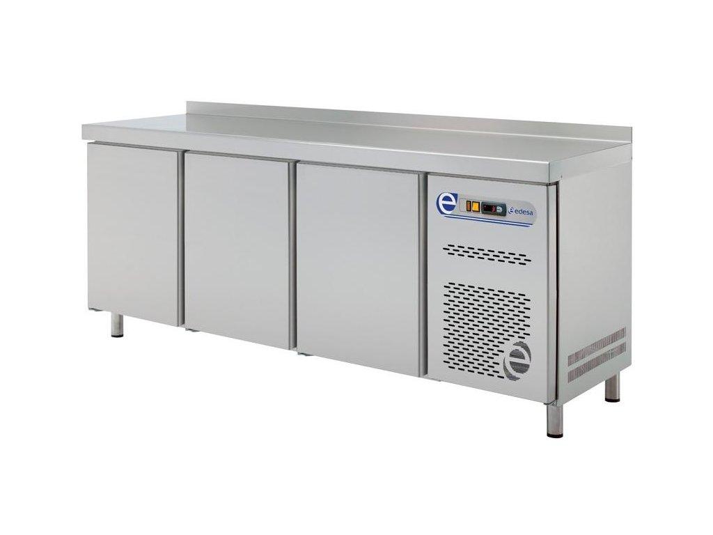 Chladící a mrazící stůl GN 1/1 700mm tři sekce Edesa