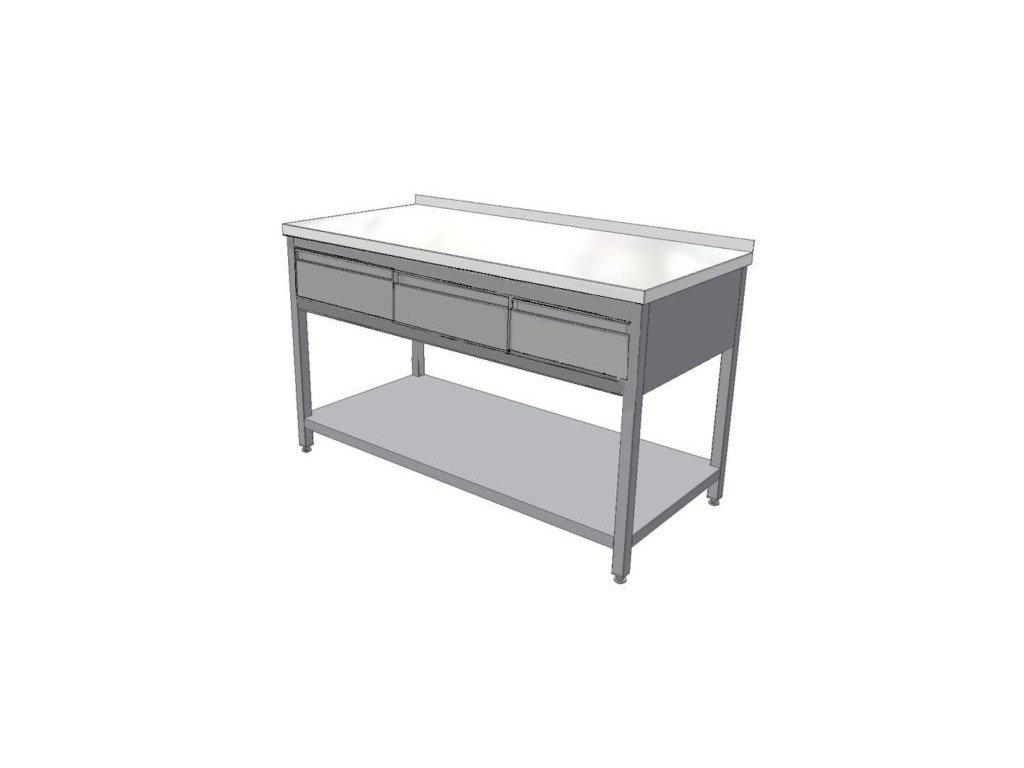 mmilenium.cz velkoobchodgastro.cz Stůl nerez KSPZH 3