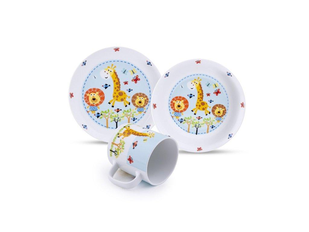 Dětský porcelán Žirafka