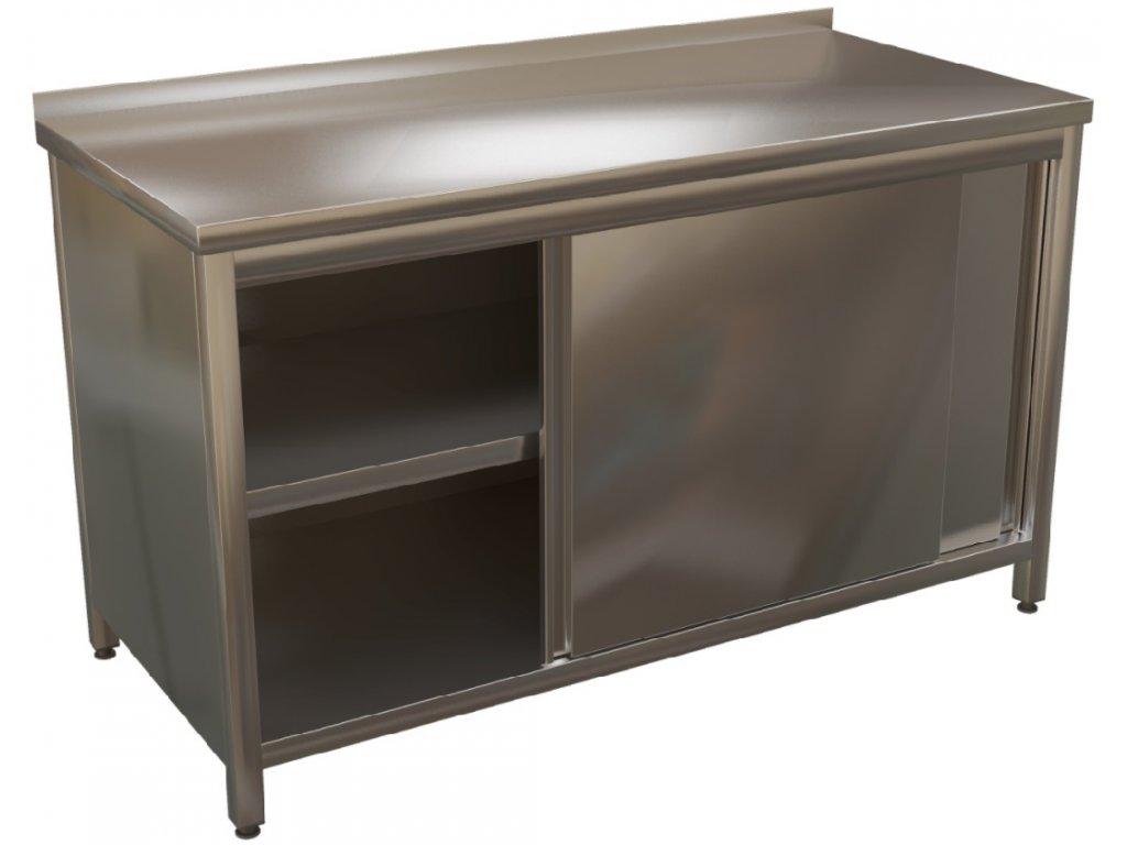 Stůl nerez KSSUP - hloubka 700mm