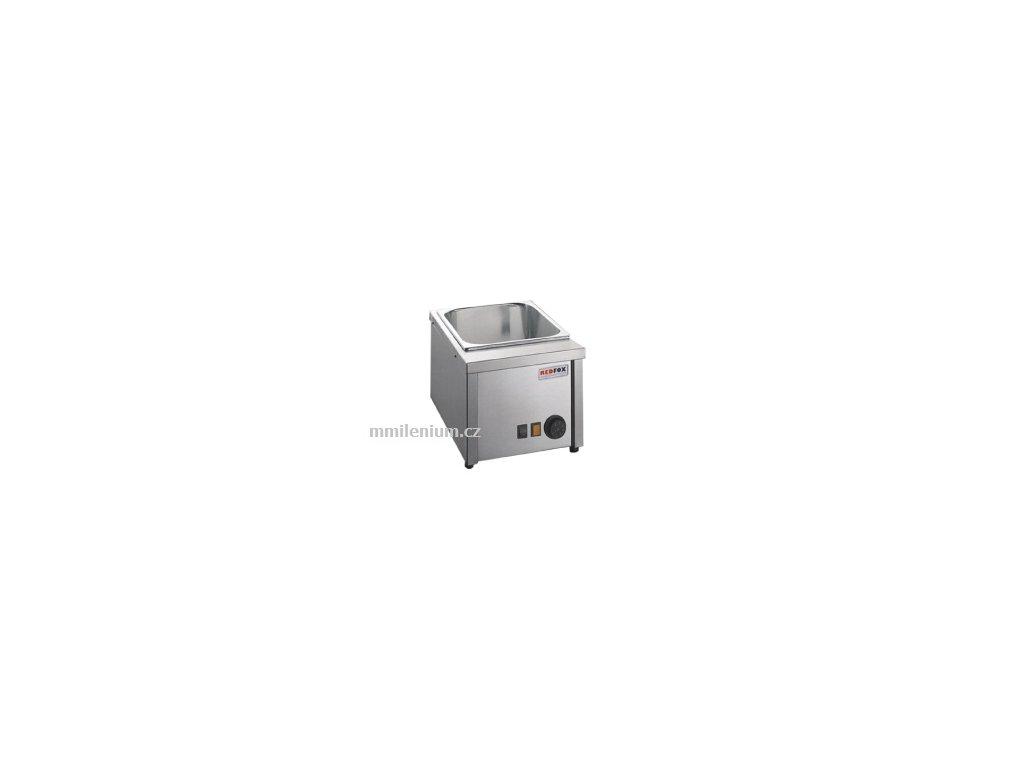Vodní lázeň elektrická malá pro GN hl. 150mm