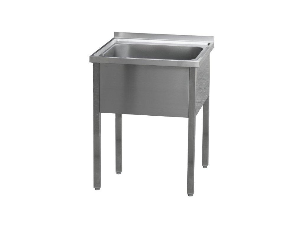 Stůl mycí jednodřez nerez MSJ