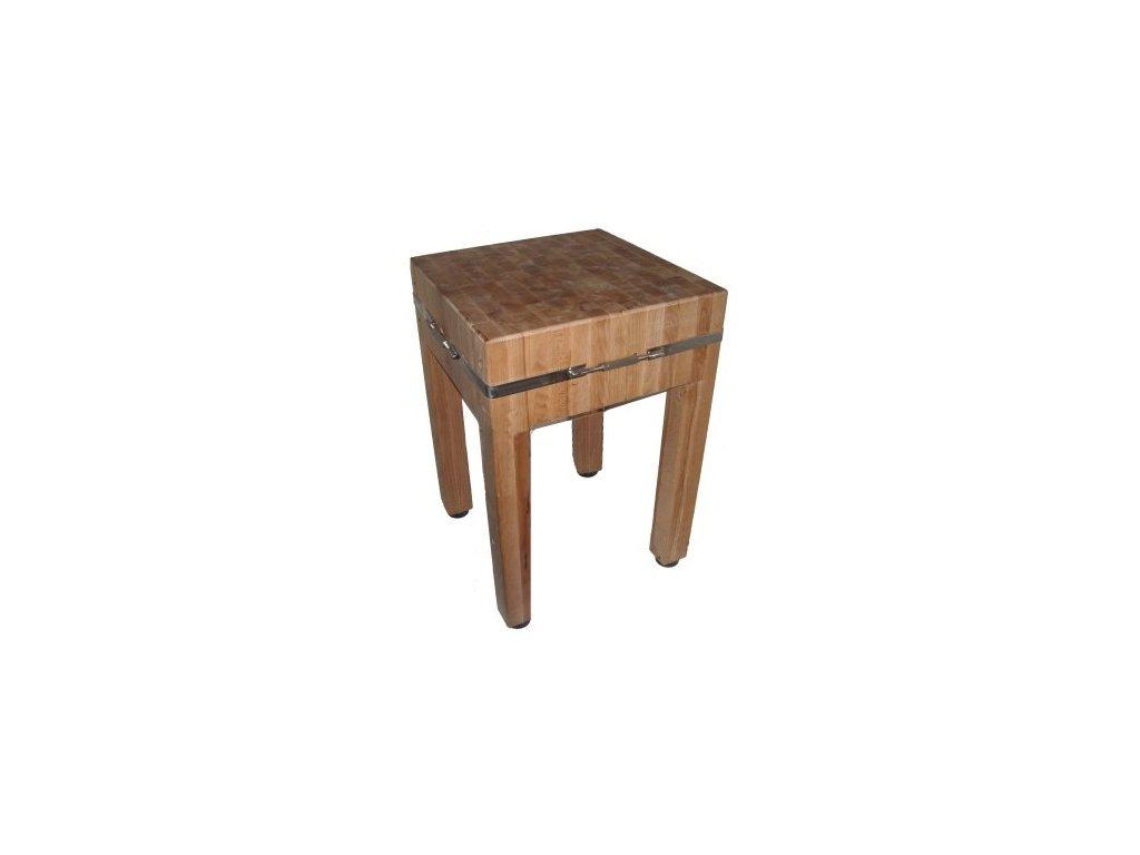 Dřevěný řeznický špalek