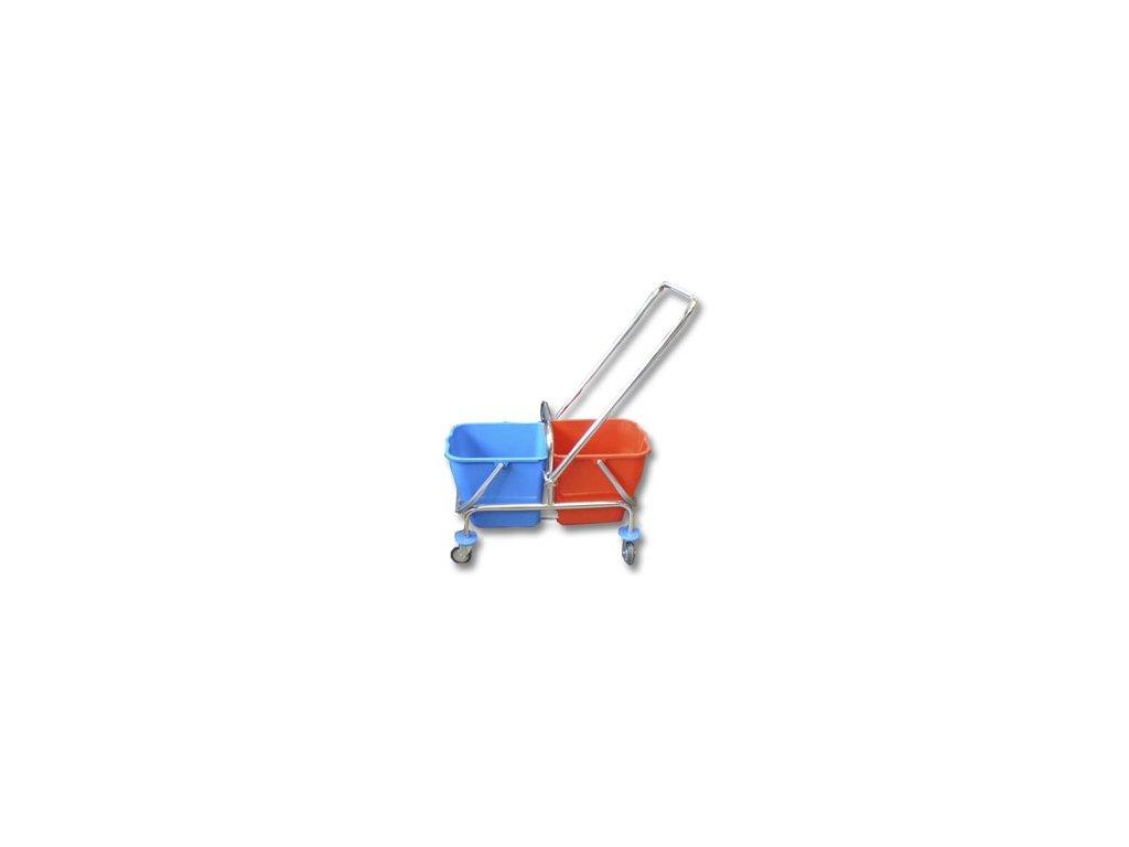 Úklidový vozík 2x17lt. bez ždímače
