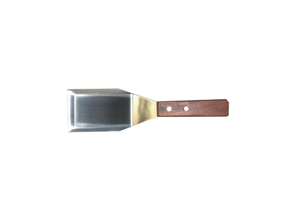 Obracečka na steaky nerezová se dřevěnou rukojetí HP-1001/004