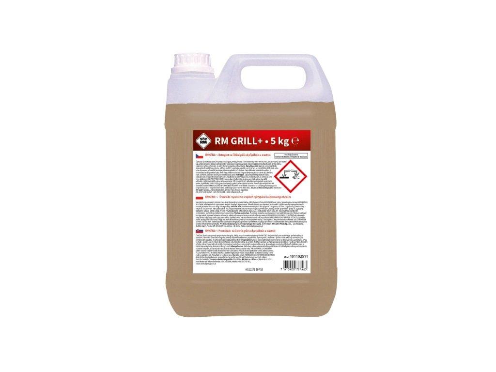 Detergent na čištění konvektomatů a sporáků od připálenin a mastnot RM Gril 5kg