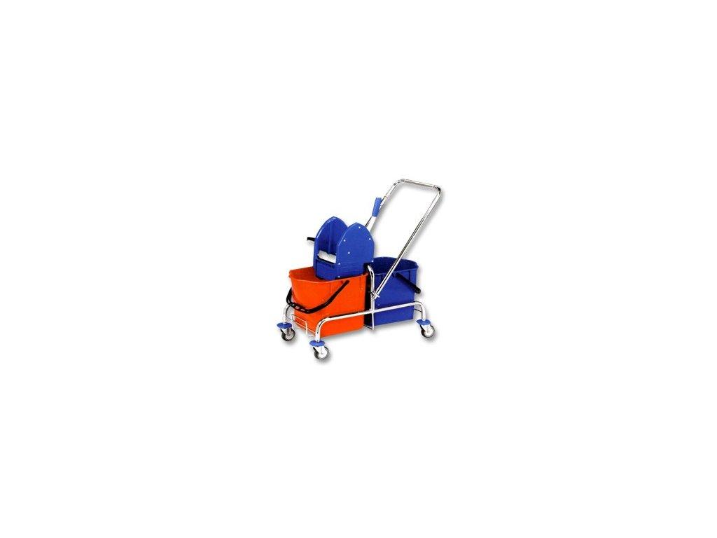 Úklidový vozík 2x17lt. se ždímačem, základní
