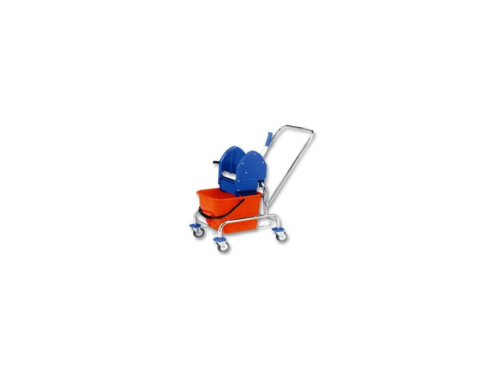 Úklidový vozík 1x17lt. se ždímačem