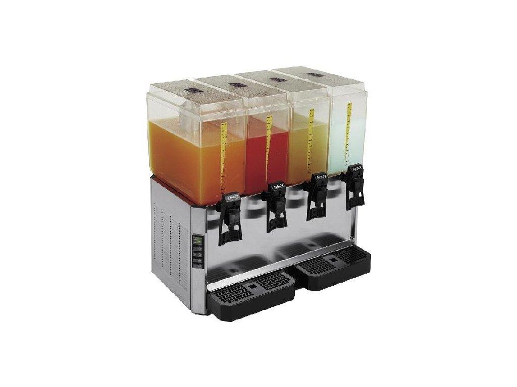 Výrobník chlazených nápojů 4x12lt.