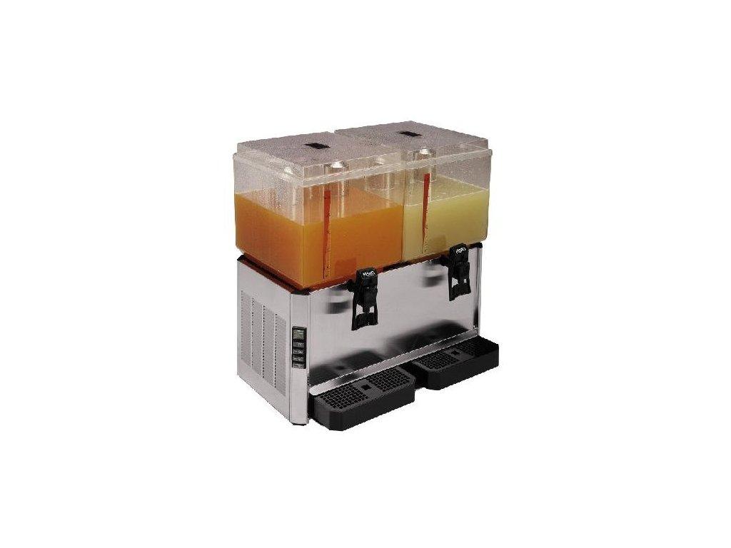 Výrobník chlazených nápojů 2x25lt.