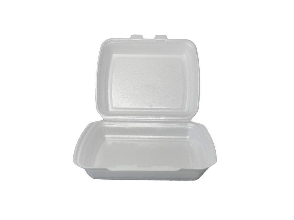 Menu box jednodílný PS - balení 125ks