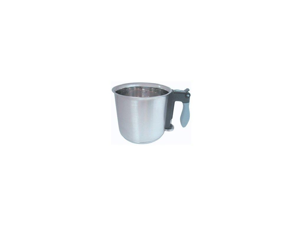 Hrnec dvouplášťový nerezový mlékovar 1,5lt.