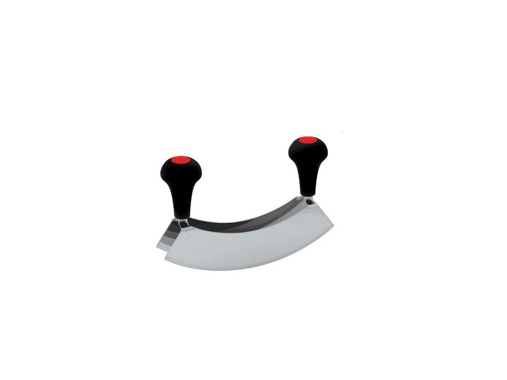 Nůž kolébkový dvoubřitý 22cm G 8287 kolíbka