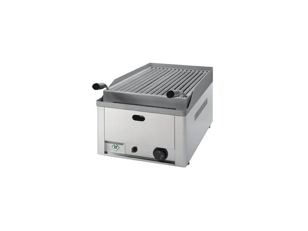 Lávový gril jednoduchý GL-30G plynový RedFox