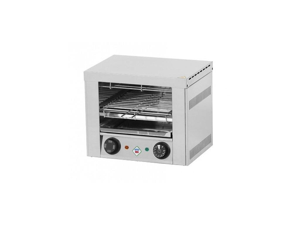 Toaster jednopatrový 2x kleště, rošt T-920 RedFox