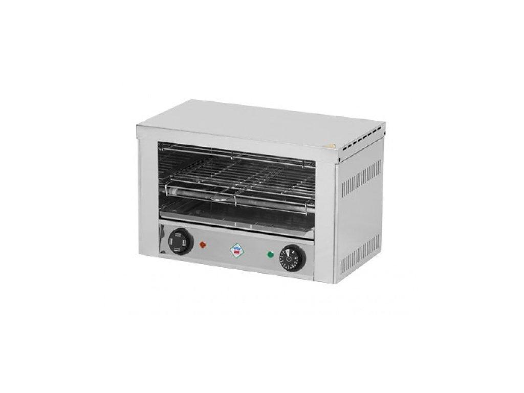Toaster jednopatrový 3x kleště, rošt T-930 RedFox