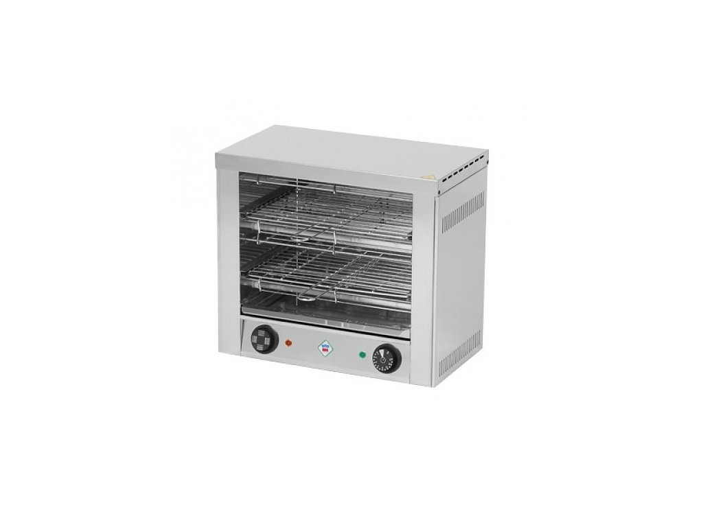 TO 960 GH - Toaster 6x kleště 2x opékací rošť RedFox