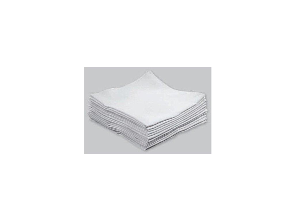 Ubrus textilní bílý