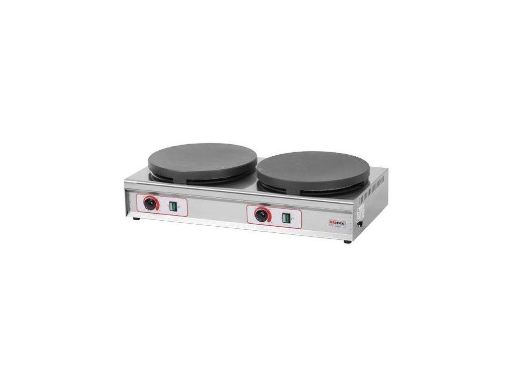 Palačinkovač dvojitý CRE-235 RedFox