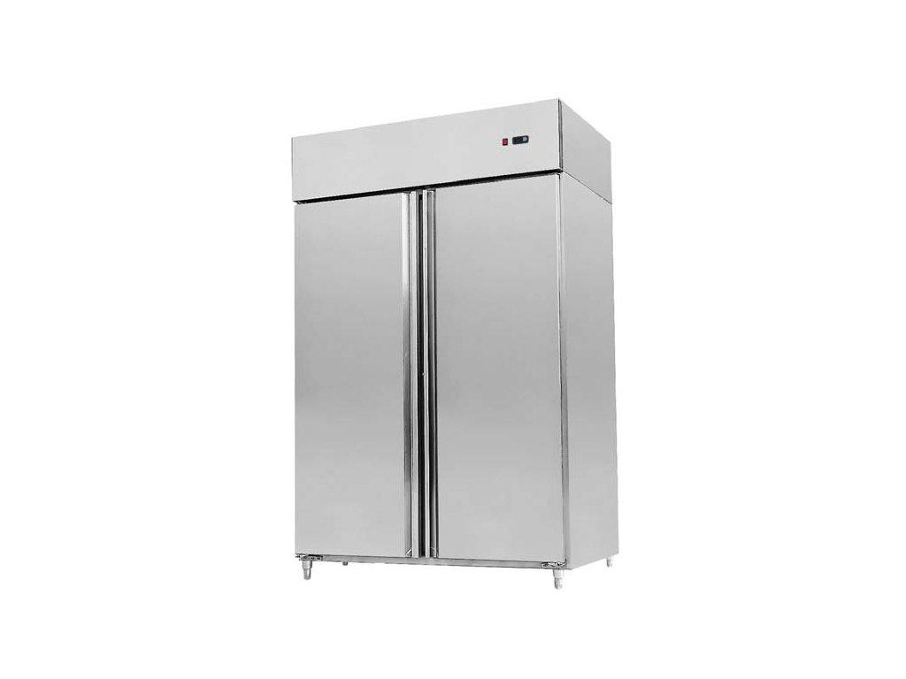 Chladící skříň statická dvoudveřová nerez KBL 2035