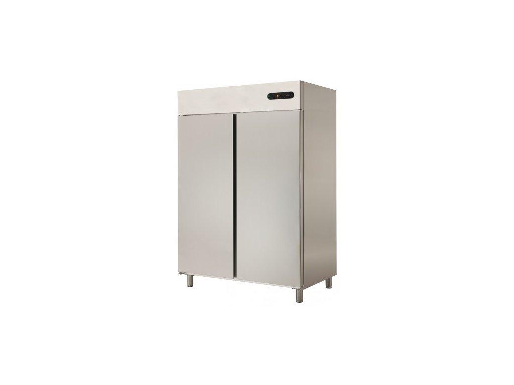 Chladící skříň GN 2/1 Asber ECP-1402 dvoudveřová 1400lt. nerez