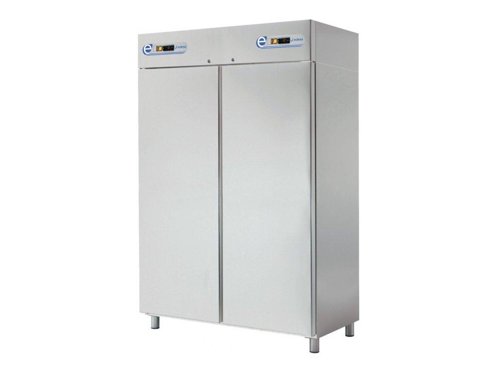Chladící a mrazící skříň GN 2/1 kombinovaná dvouprostorová 1.400lt. nerez SPNI-142/2D Edesa