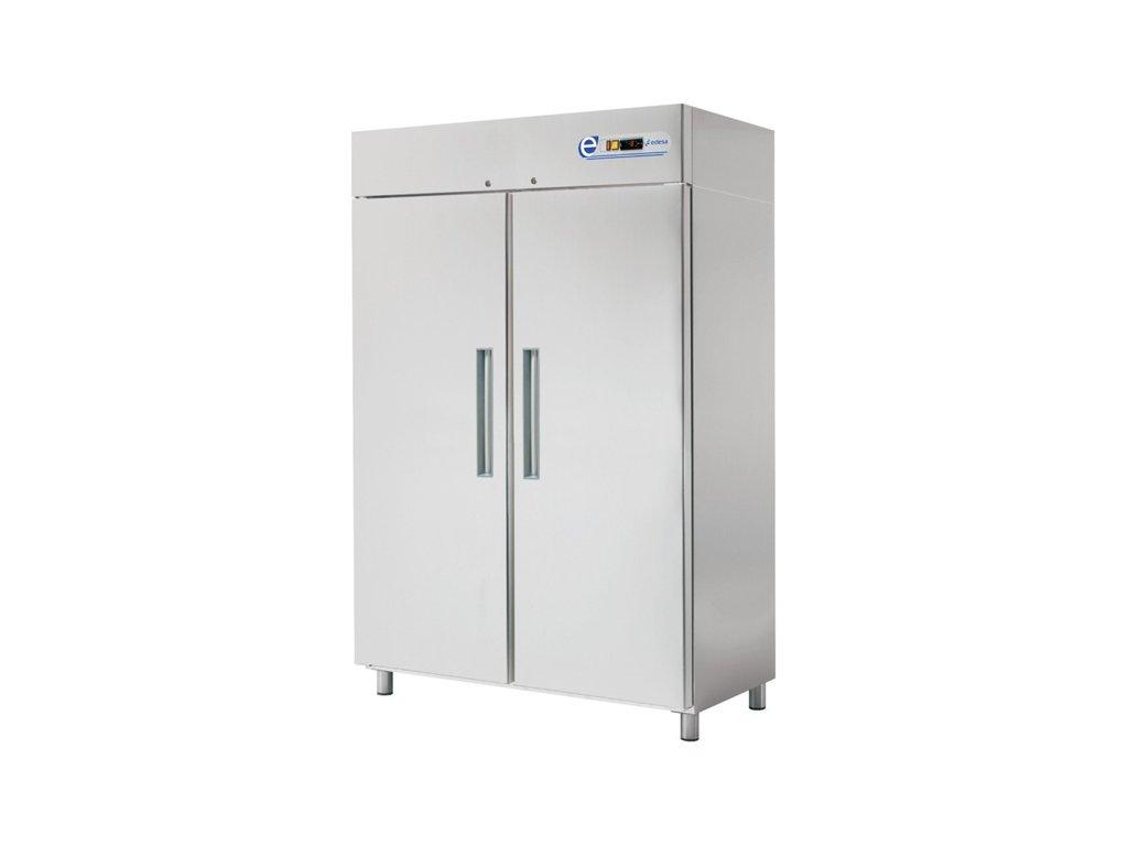 Chladící skříň GN 2/1 dvoudveřová 1.400lt. nerez galvanizovaná SPG-142 Edesa