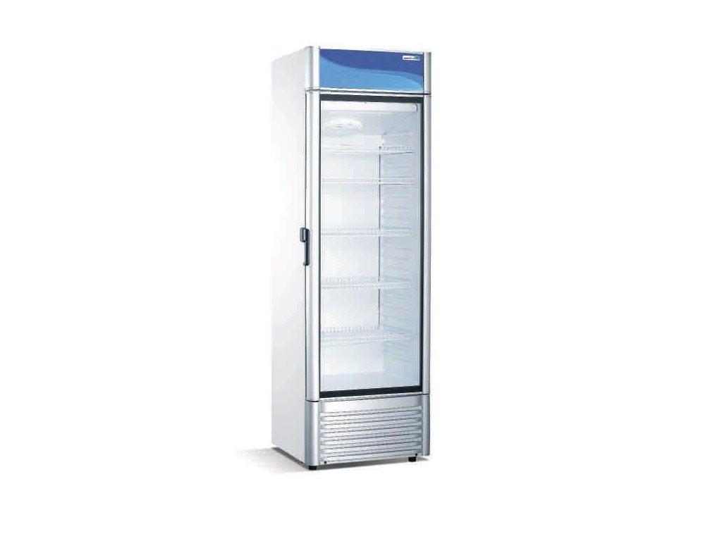 Prosklená chladící nápojová skříň Practic 350lt. XLS-350CW SAVE