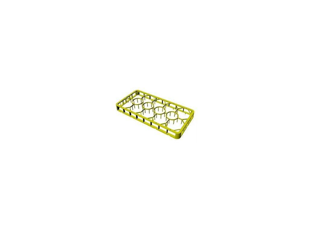 Nástavec plastový na sklenice 14 pozic 1/2 50x25cm C-1413