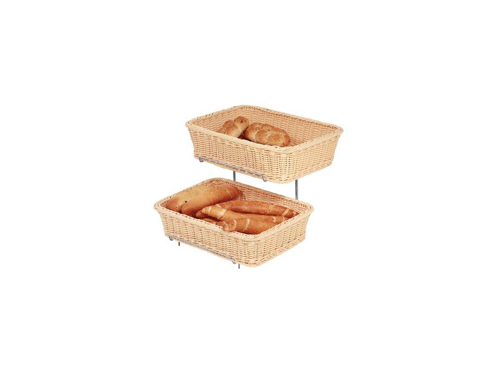 Košíky Poly-Ratan na pečivo