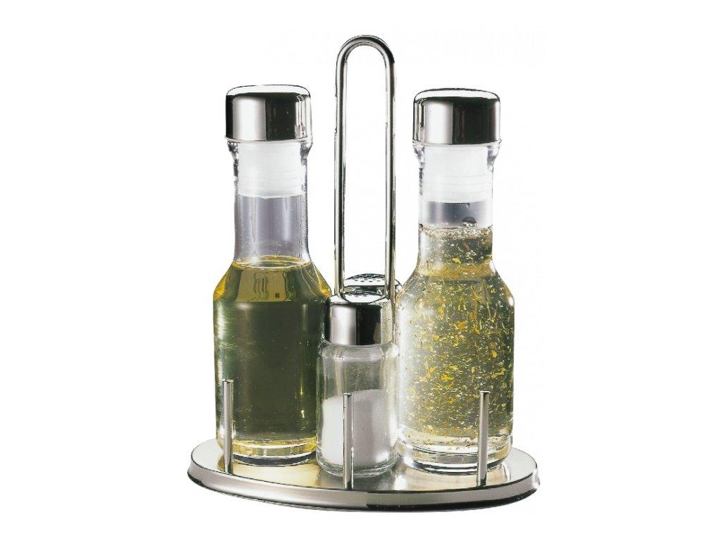 Set dochucovací na olej, ocet, sůl a pepř TF-454