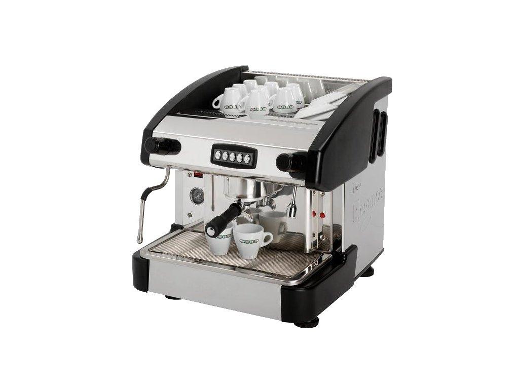 Kávovar jednopákový - dřevo EMC 1P/W/C Red Fox