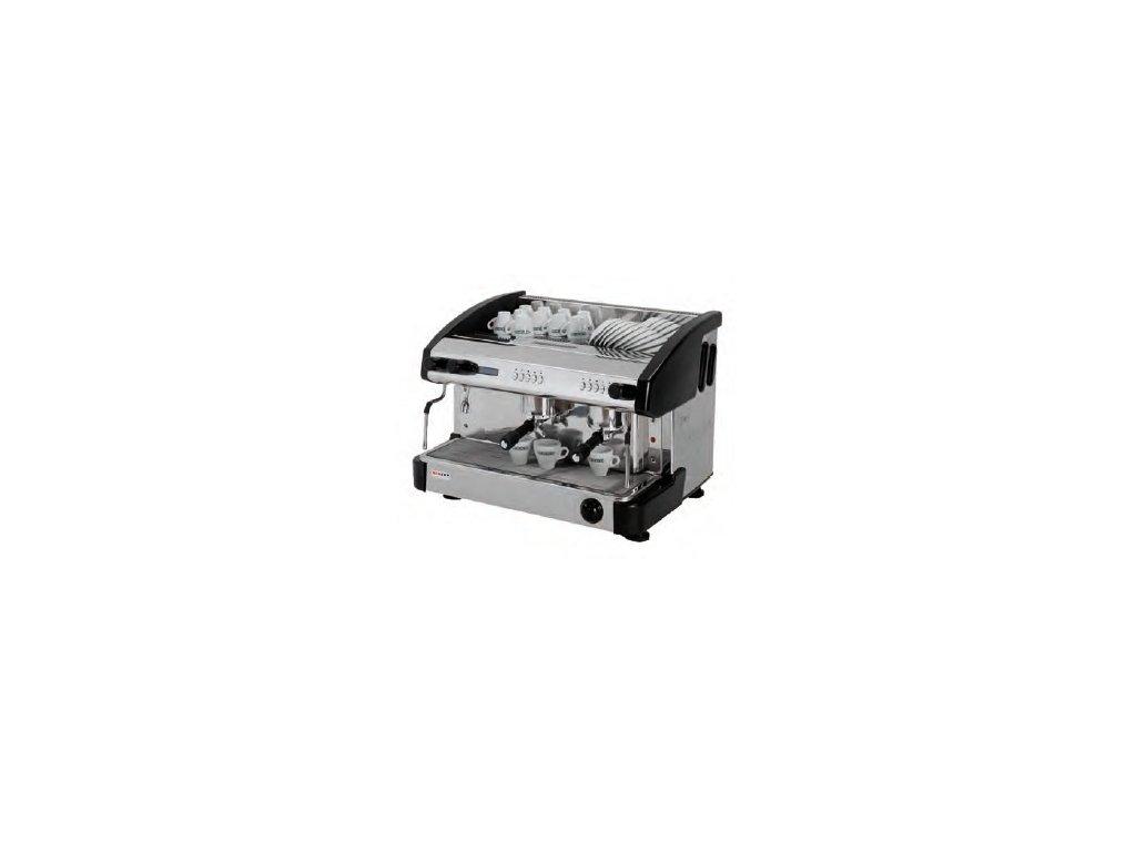 Kávovar dvoupákový - černý EC 2P/B/D/C Red Fox s kapučínovačem