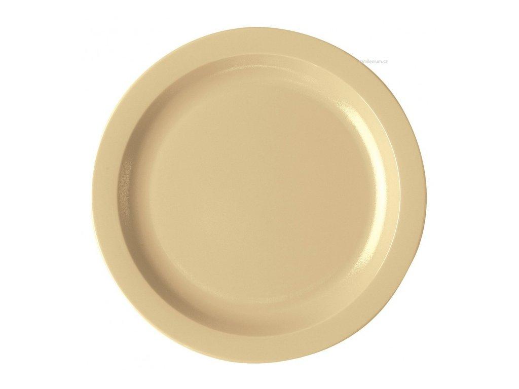 Mělký nerozbitný talíř 25,4cm Cambro 10CWNR