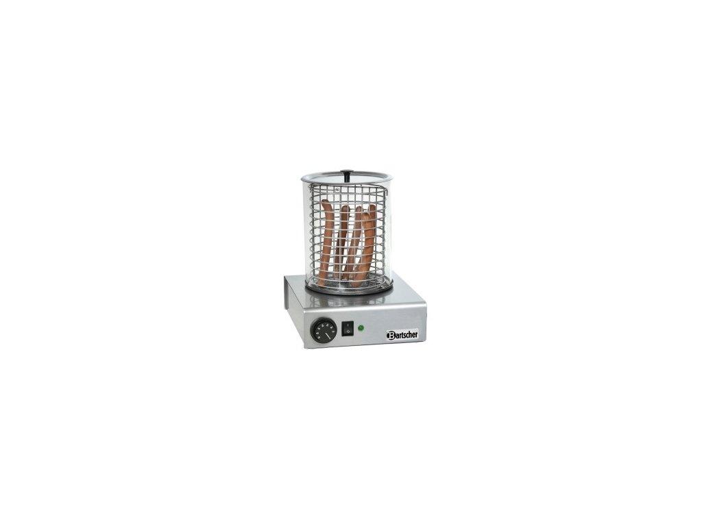 Elektrický přístroj nerezový na hotdogy A120.401 Bartscher