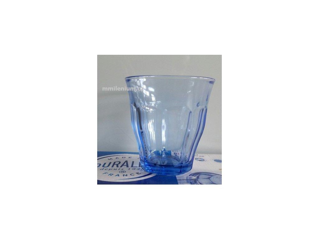 Sklenička Picardie 22cl. duritka Duralex modrá