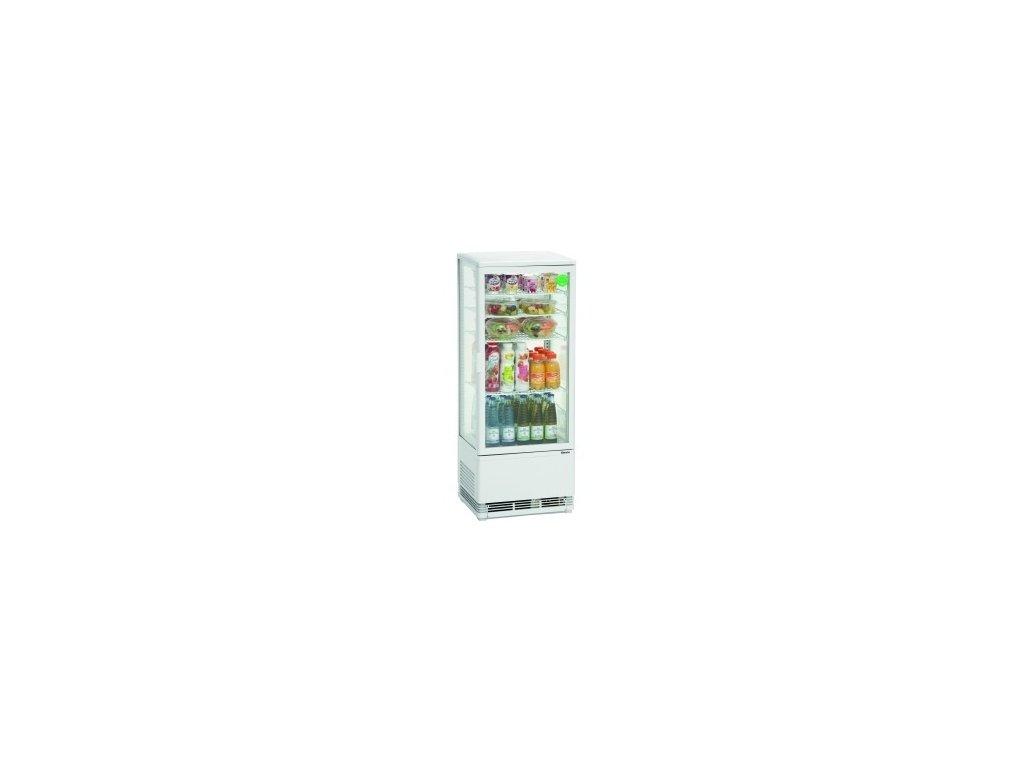 Chladící minivitrína - 98 litrů Bartscher 700.298G