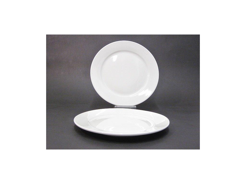 Talíř mělký Tonda 24cm porcelán