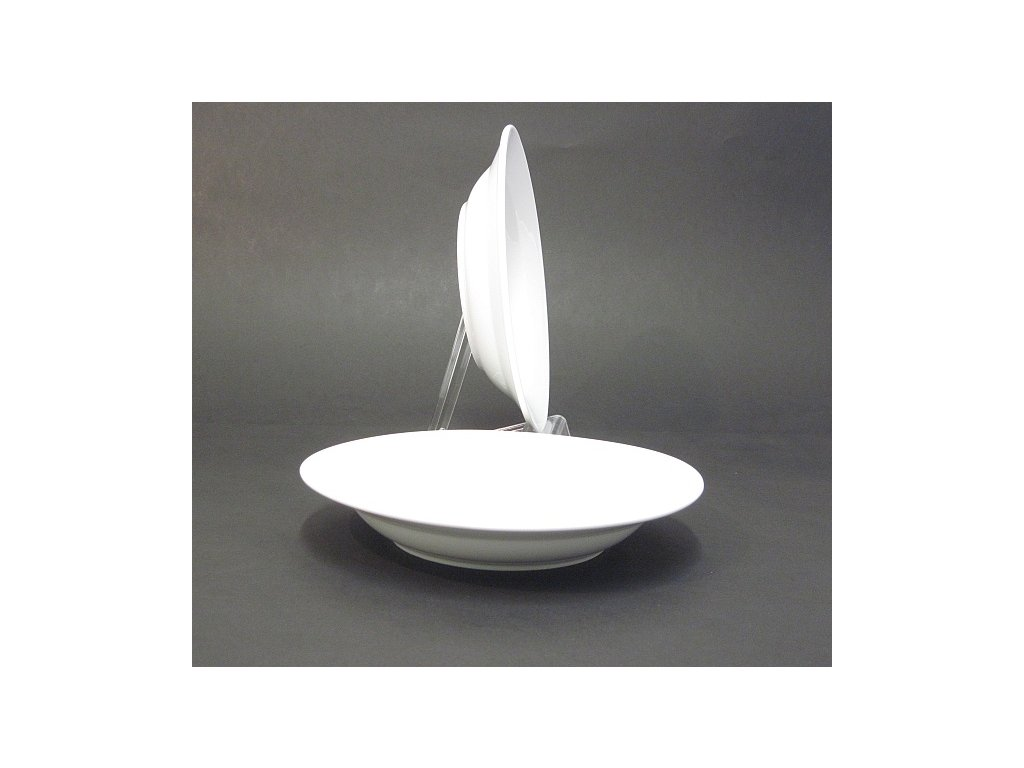Talíř hluboký Tonda 22cm porcelán