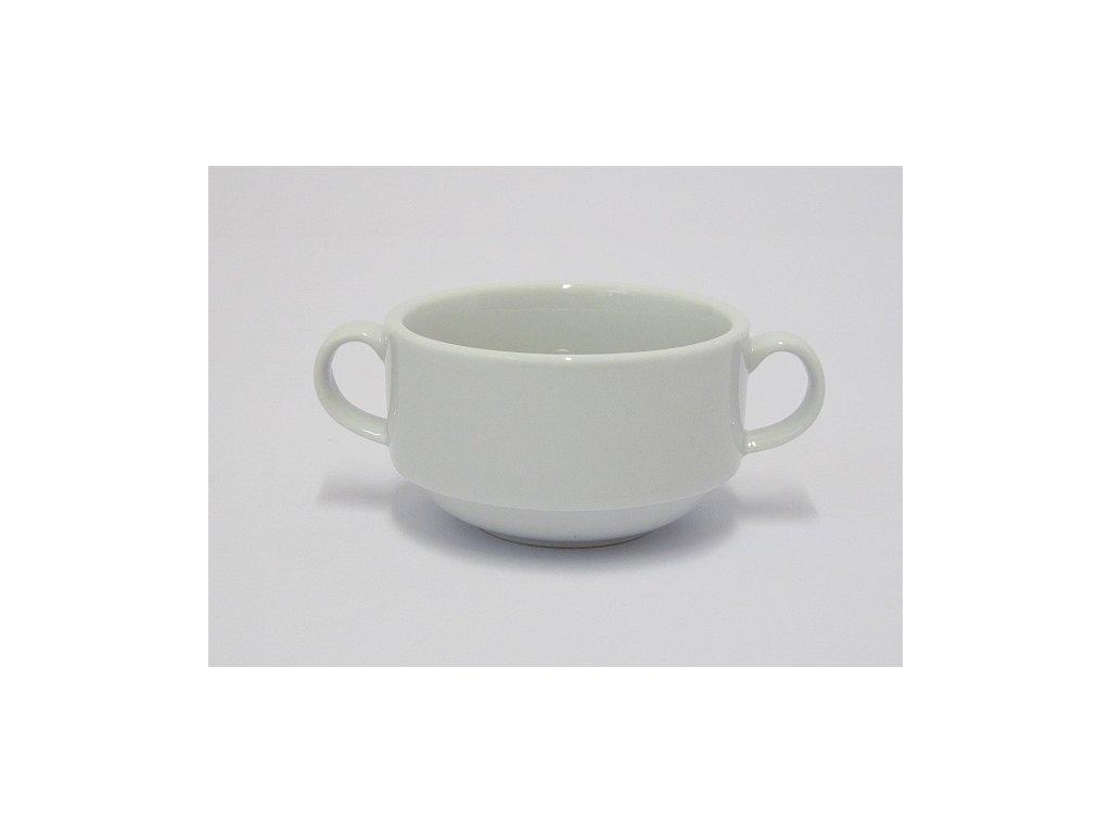 Miska na polévku 31cl. štosovatelná Tonda porcelán