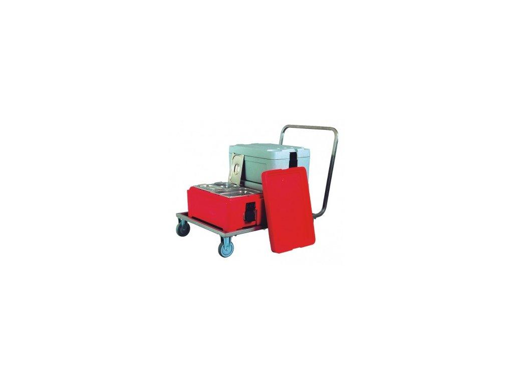 Manipulační vozík na termoporty MVP-2/U nerez