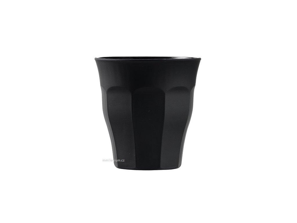 Sklenička Picardie 9cl. duritka Duralex Soft Touch BLACK