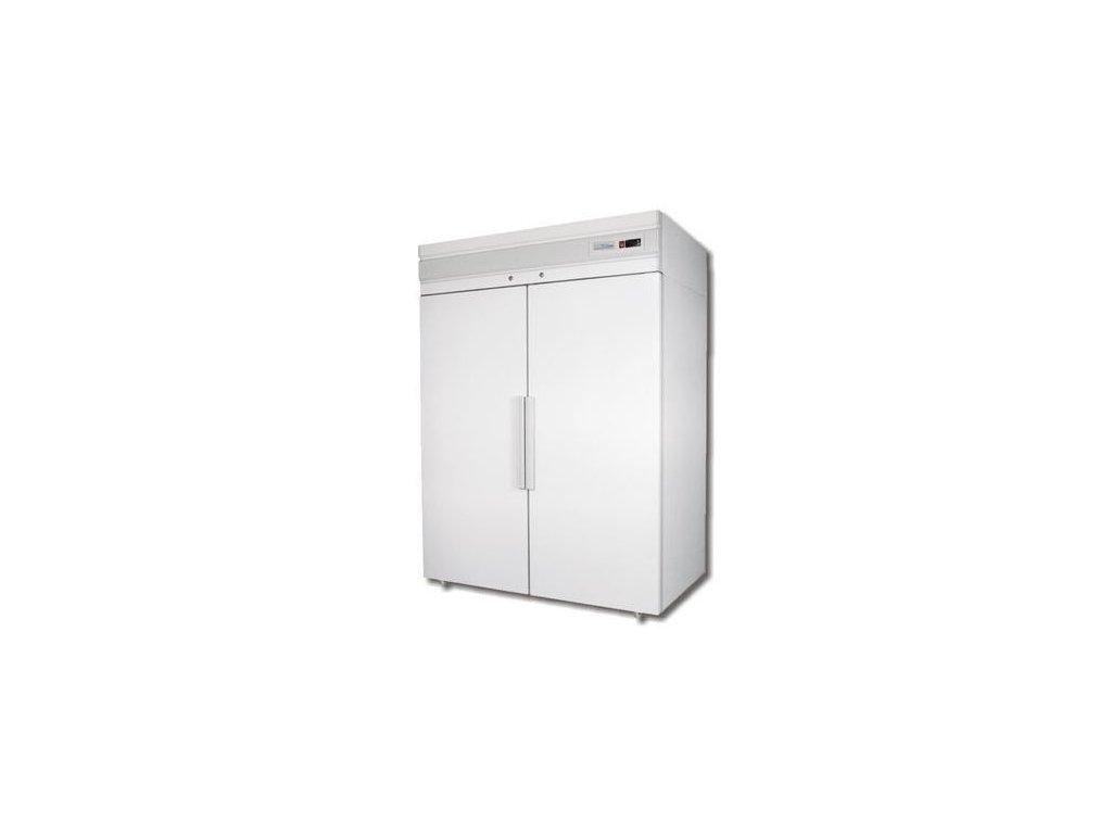 Mraznička dvoudveřová bílá CB 114 S 1400lt. Polair bílá