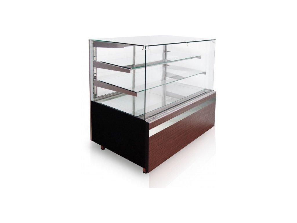 Chladící vitrína CUBE 0,9W 2P obslužná