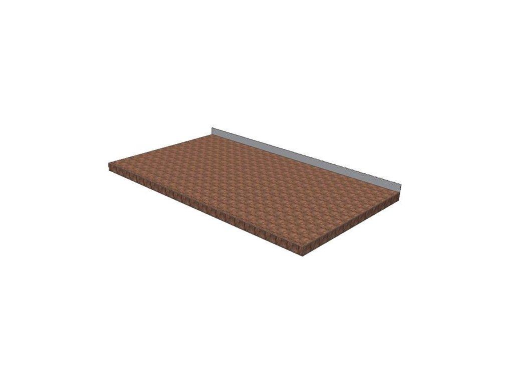Pracovní deska dřevěná KPDB buková - šíře 600mm