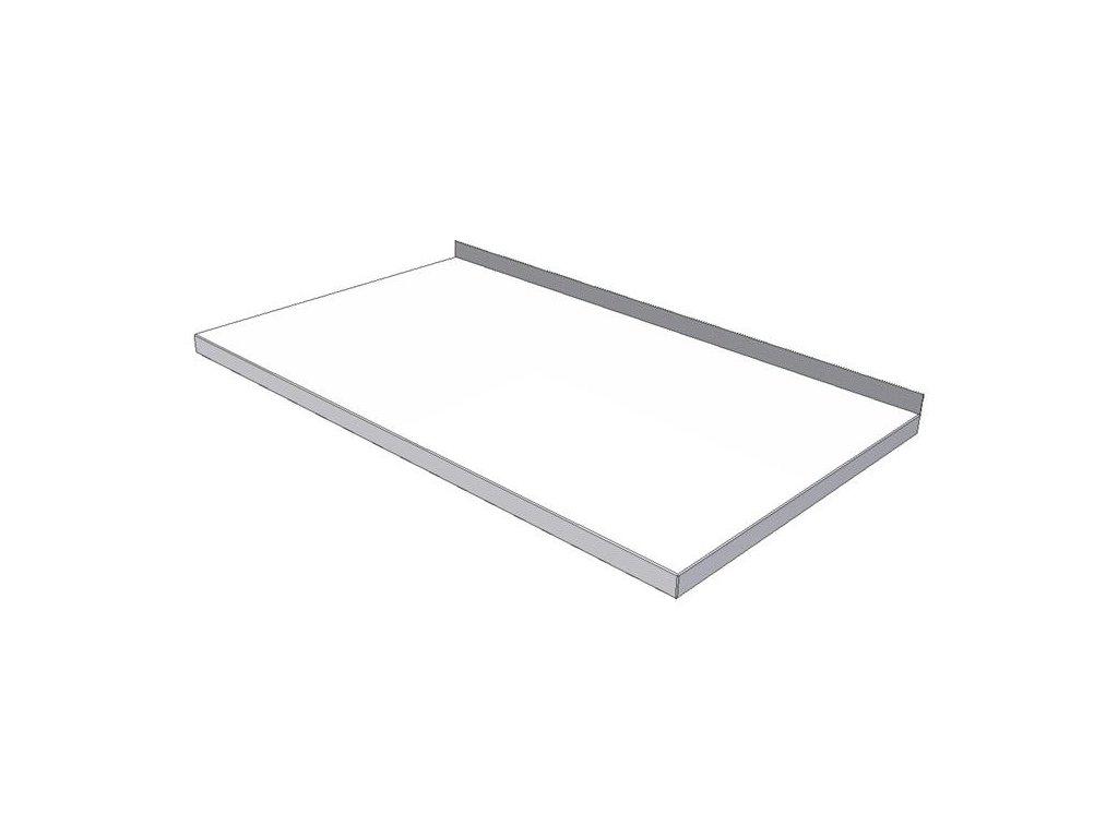 Pracovní deska nierolenová KPDN plastová - šíře 600mm