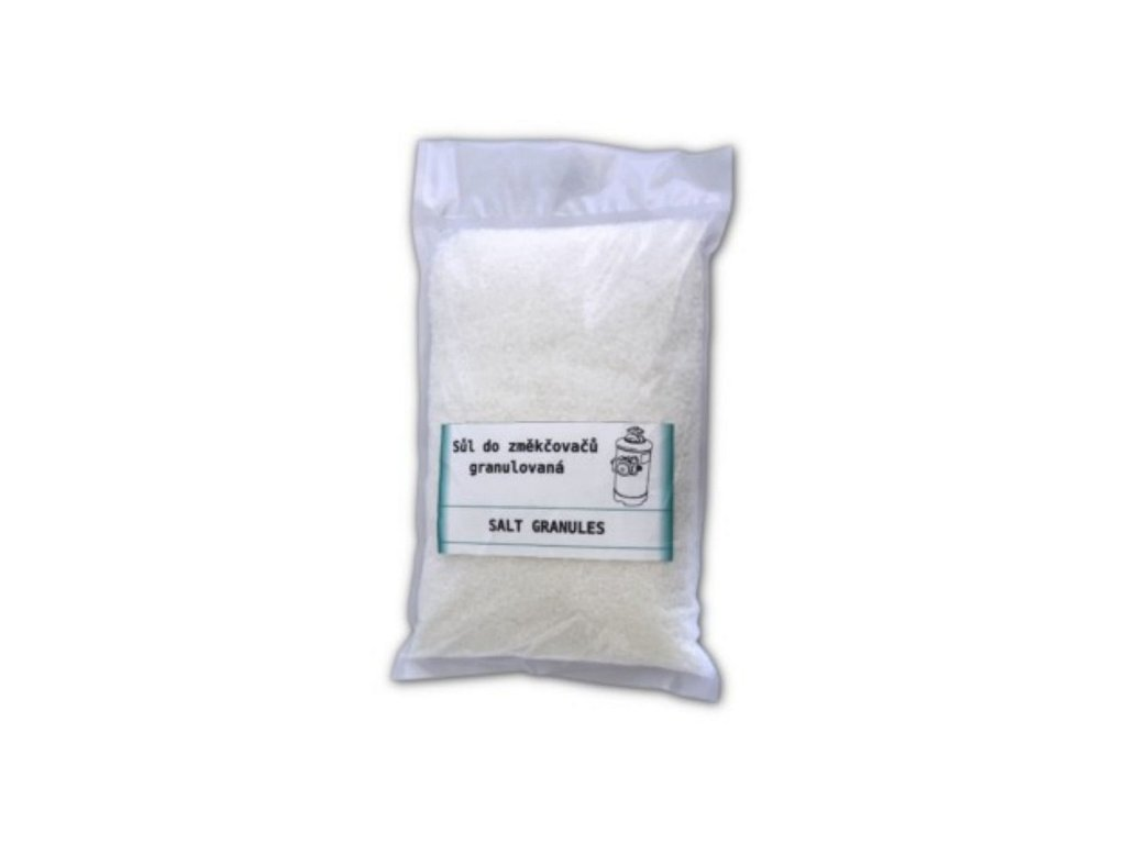 Sůl do změkčovačů vody - granule UWIS 3kg