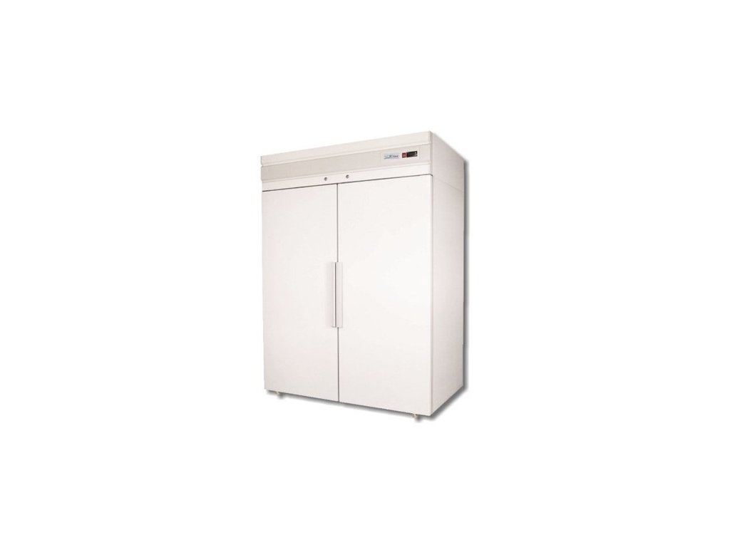 Lednice dvoudveřová Polair CM 114 1400lt. bílá