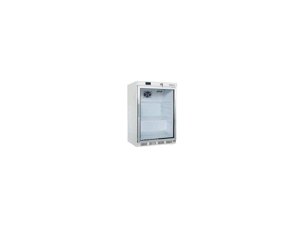NORDline UR-200 G prosklená chladnička 130lt. bílá