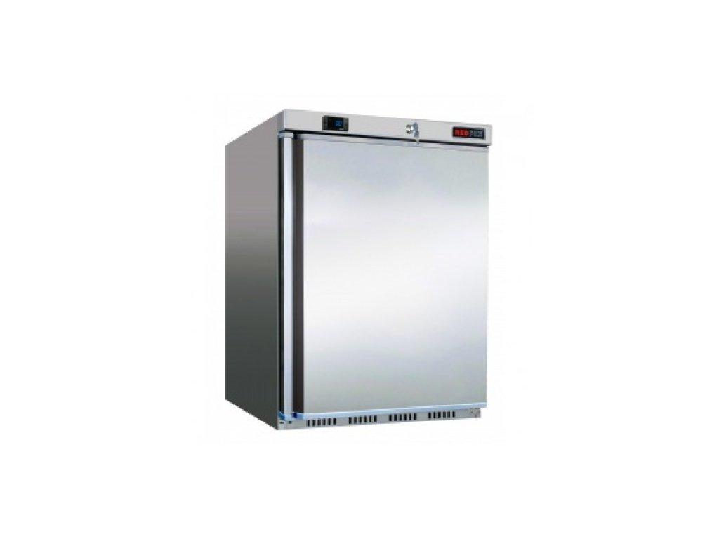 Chladnička jednodveřová Nordline UR 200 S nerez 130lt.